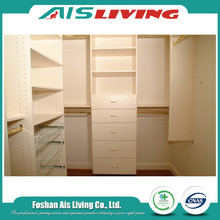 Shelf wall unit wardrobe closet systems
