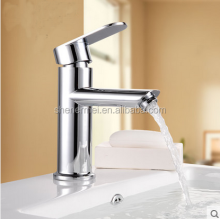 Contemporary Brass Waterfall Basin Faucets Mixers Taps