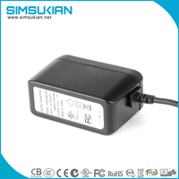 AC 100V 240V To DC 12V 1A USB Power Supply Adapter for LED Lights Strips CCTV Consoles DVD Stereo