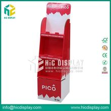 HIC chocolate beans cardboard display, festival display stand for chocolate sale