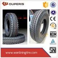 DRIVE ROAD/OFF ROAD TBR Tires 2015 Brand new all steel radial truck tyre