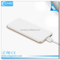 Rohs, CE, FCC power bank 5000mAh with intelligent management system