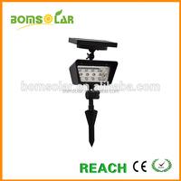 4LEDs good design solar spot light outdoor high quality solar led spot light