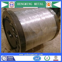 Factory sale galvanized steel electric fence wire for fishing net