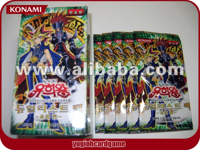 YUGIOH KOREAN DUELIST PACK - YU-GI - BOOSTER BOX / KOREAN ORIGINAL