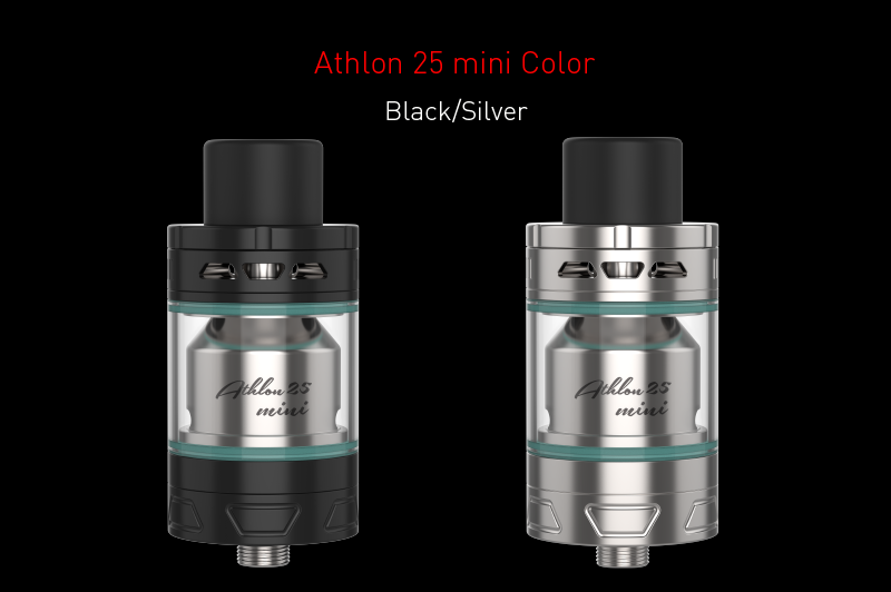 new arrivals 2017 hot selling Youde Athlon 25 mini rta atomizer