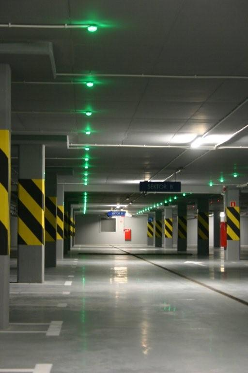 parking guidance system sensor lamp