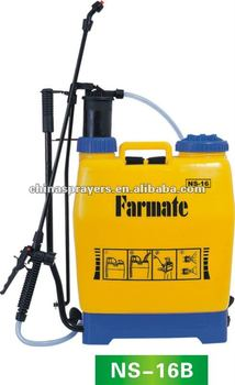 knapsack Hand Operated pressure sprayer, Farmate sprayer NS-16B