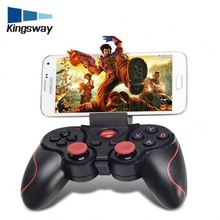 2018 Certification Support custom color 2.4G wireless PC connect Game handle, wireless BT gamepad T3