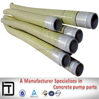 Concrete pump truck parts used concrete pump rubber hose