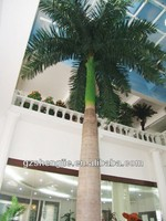 China manufacturer make fake imitated perserved outdoor artificial king coconut palm tree for decor