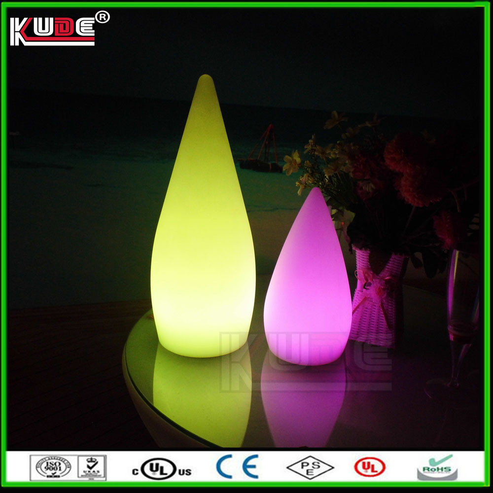 rechargeable cordless LED plastic table lamps from factory