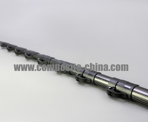 Hightshot camera mast, Light Weight Video Jib Arm, Carbon Fiber Tube