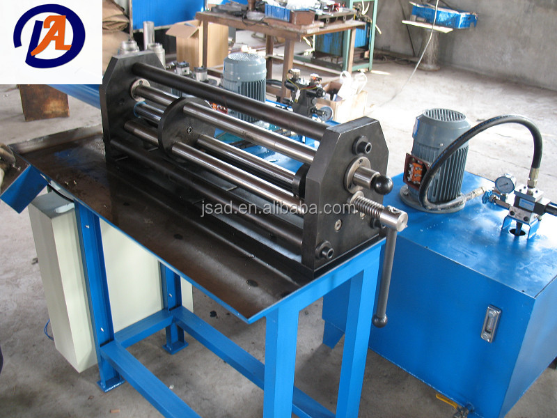 Bellows tube forming machine and equipment part