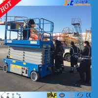Security Performance Self Propelled Telescopic Lightweight Ladders