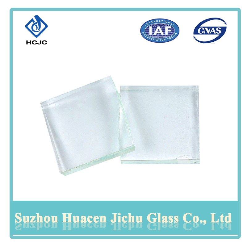 Durability easy operation thick glass sheet