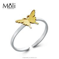 High Quality Plating Finish Butterfly Design