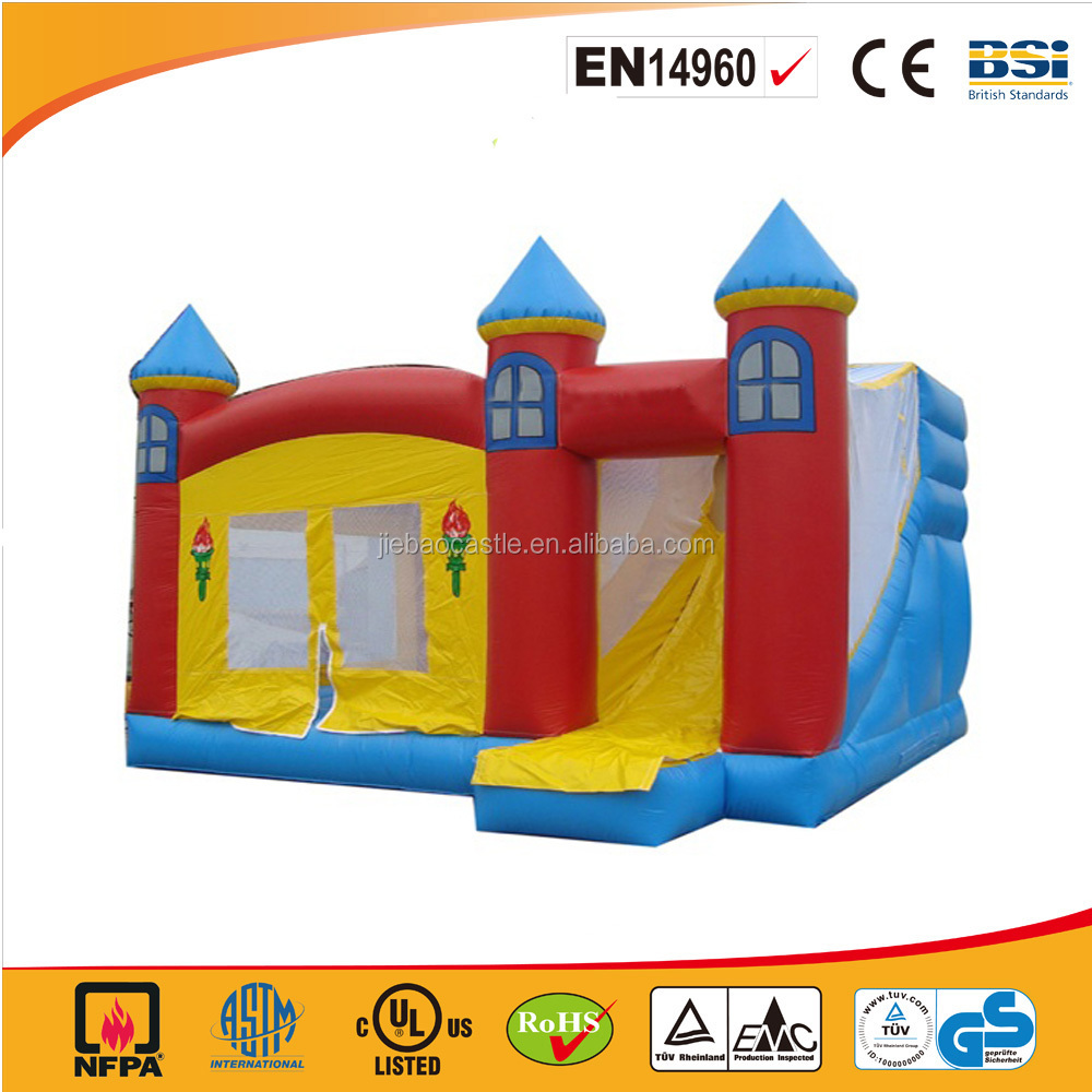 2016 hot sale inflatable bouncy castle/residential bouncer castle for kids