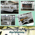 Best selling!! Flexo 4 colors print slotter die cutting stacker machinery