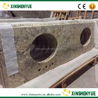 Man-made Stone Precut Kitchen Granite Countertop