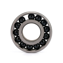 No cage full ball hybrid ceramic bearing 7001