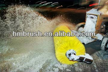 Gasoline power Sweeper 13hp Snow sweeper brush