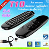 Manufacturer supply Gyroscope Mini Fly Air Mouse RC11 2.4G wireless Keyboard for google android Mini PC TV box