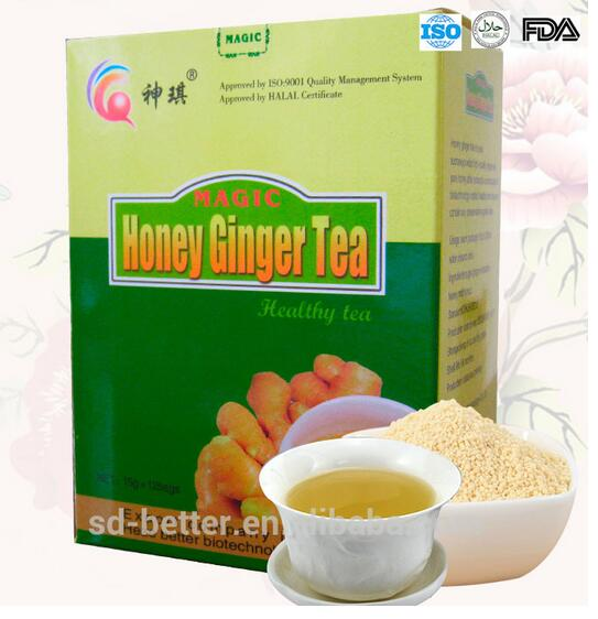 Ginger tea with honey 15gx12sachets/box honey ginger tea
