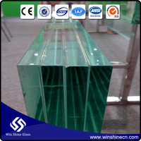 Lowest Price Custom-Made extra large laminated glass wall panel