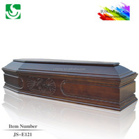 JS-E121 good quality cardboard coffin beds factory