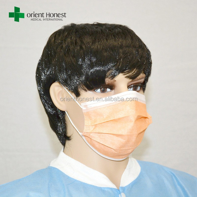 Disposable allergy free nonwoven dental face mask for hospital