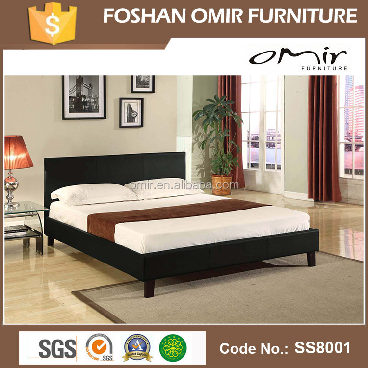 Quality Best Price Bedroom Furniture Black Pu/pvc Bed - Buy Best Price ...