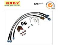 Motorcycle brake lines kit
