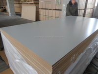 High gloss white laminated mdf board price