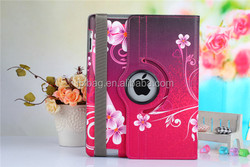 China Manufacture Hotselling Smart cover leather stand flip color drawing case for ipad 2 3 4 9.7 inch Tablet Pc