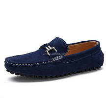 Men's Comfort Flat Suede Loafer Shoes