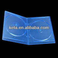 Double Silm 7MM Elegant Plastic Bluray DVD Case With Bluray Logo