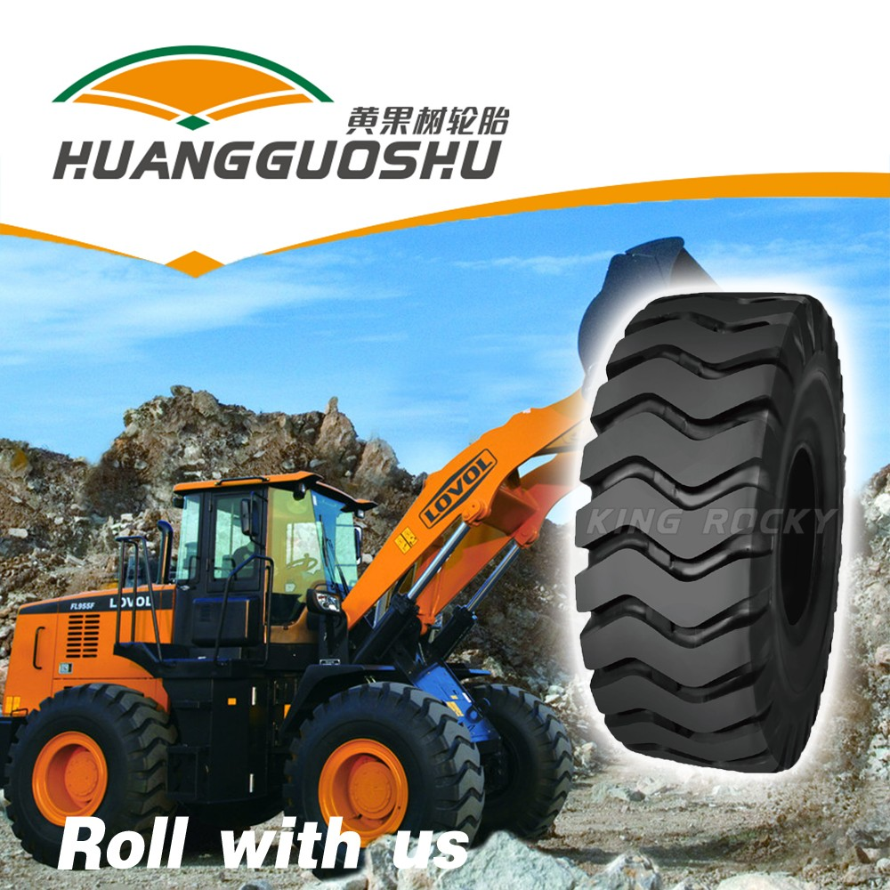 L3 E3 road tires made in thailand 17.5-25