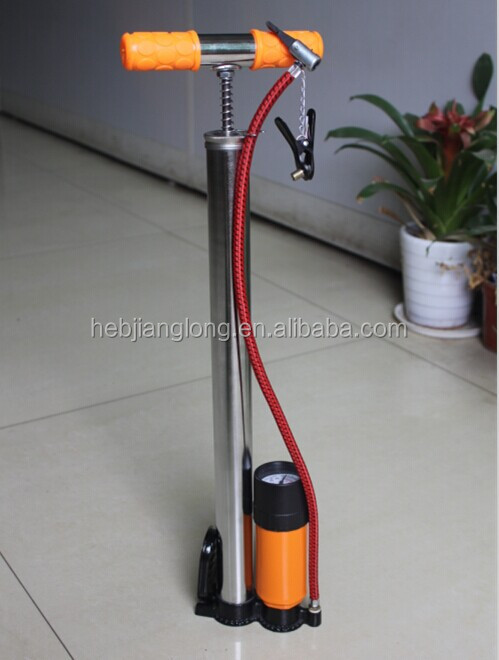 stainless bicycle hand pump/bicycle parts/bicycle spare parts