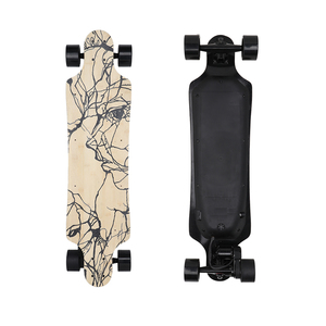 New E-Go Electric Longboard Boosted Dual Skate Board 2000W Electric Skateboard for sale