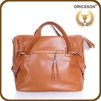 Zipper Woman Casual Classy Bag Made of PU Leather