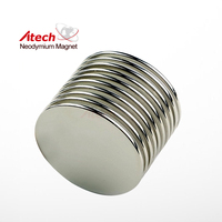 Ni/Nickel Coated Disc Magnets Magnet Coin