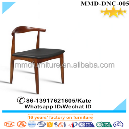 Walnut solid Wooden dining chairs home chairs,High end durable solid wood dining chairs in black,cheap hot sell banquet chair