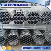 China Manufacturer Pre Galvanized Steel Pipe