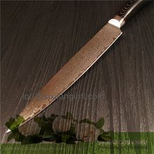 unique and reliable king pakkawood forged pom handle kitchen knife