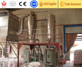 Spin flash drying machine for cellulose acetate
