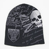 New fashion printing beanie winter hat type and knitted winter beanies