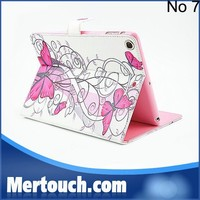 Wholesale for iPad mini case tablet pc flip leather case for iPad mini wallet stand book style