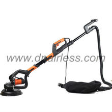 Electric drywall sander with automatic vacuum system