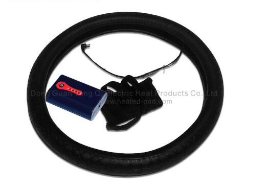 Battery Heated Car Steering Wheel Cover